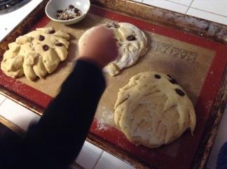 Hedgehog bread